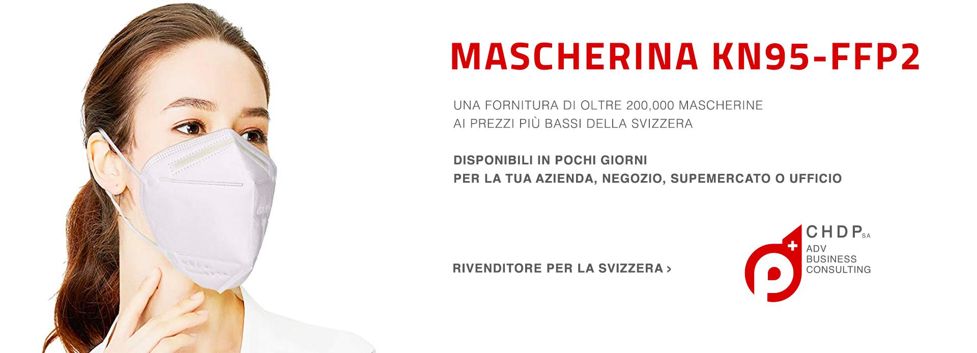 Mascherine KN95-FFP2 per la tua azienda in Svizzera