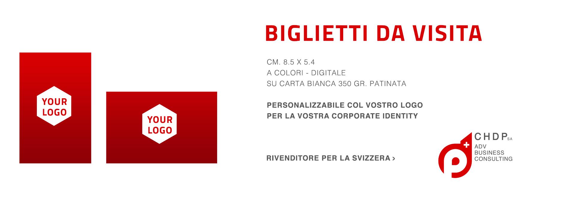 Biglietti da Visita personalizzabili per la tua azienda in Svizzera