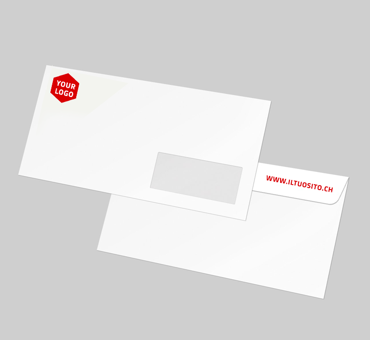 Buste da Lettera Personalizzabili per la Svizzera