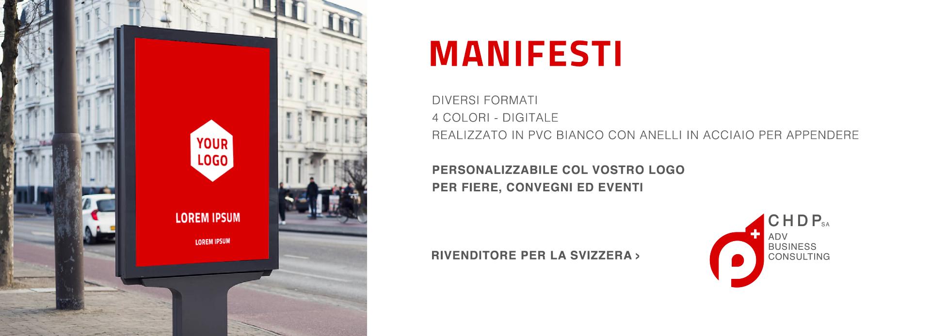 Manifesti personalizzabili per la tua azienda in Svizzera